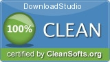 DownloadStudio. Award-winning download manager. Rated 100% clean by CleanSofts.org