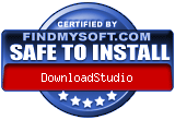 DownloadStudio. Award-winning download manager. Rated 5 stars at FindMySoft.com