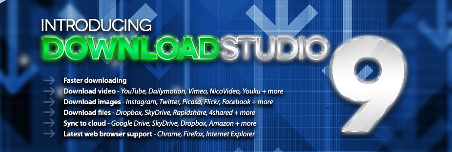 DownloadStudio Download Manager - Introducing DownloadStudio 9