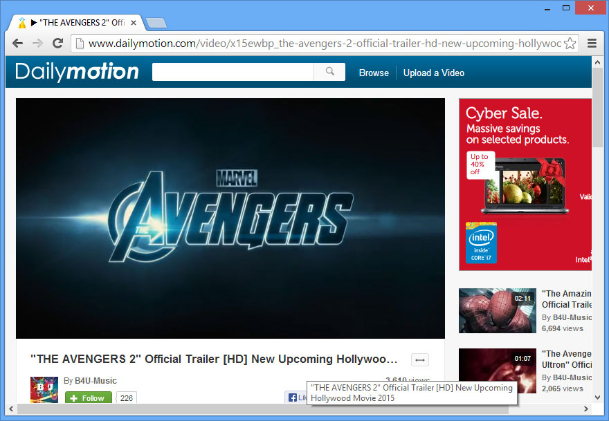 dailymotion download firefox