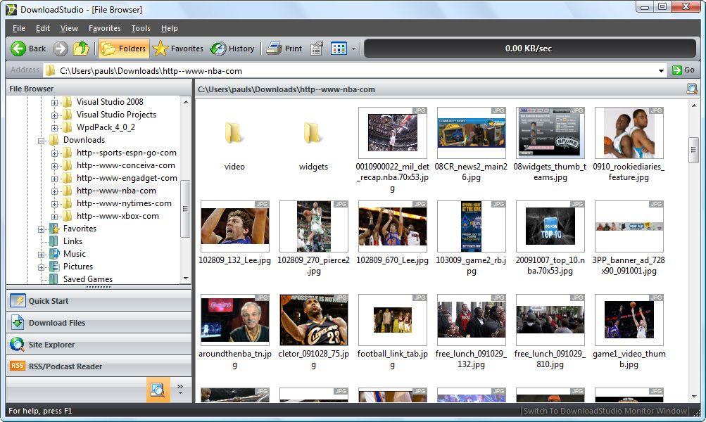 DownloadStudio - Internet Download Manager And Download