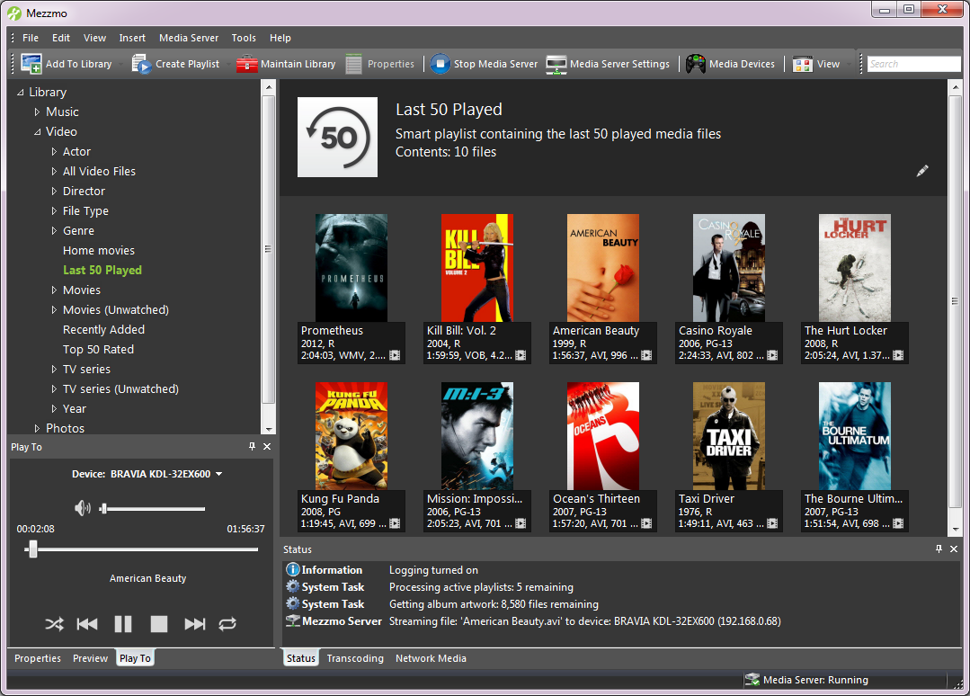 Mezzmo - The ultimate media server for streaming movies, music and ...