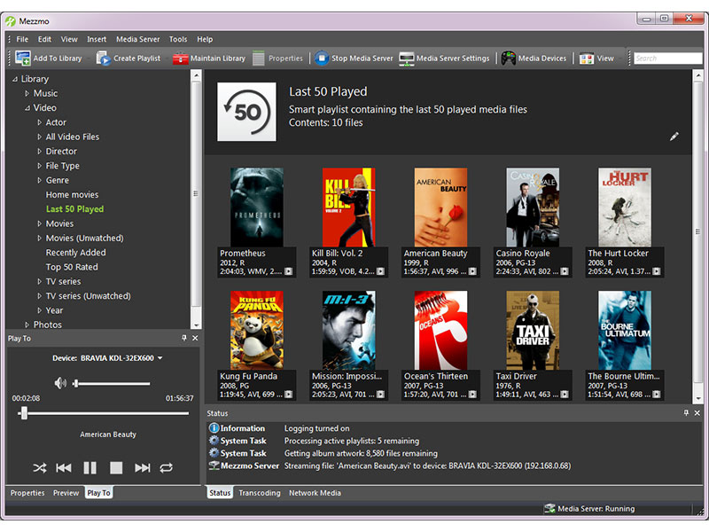 The ultimate media server for streaming movies music and photos to your devices well known Screen Shot